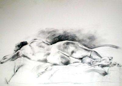 Nude horizontal