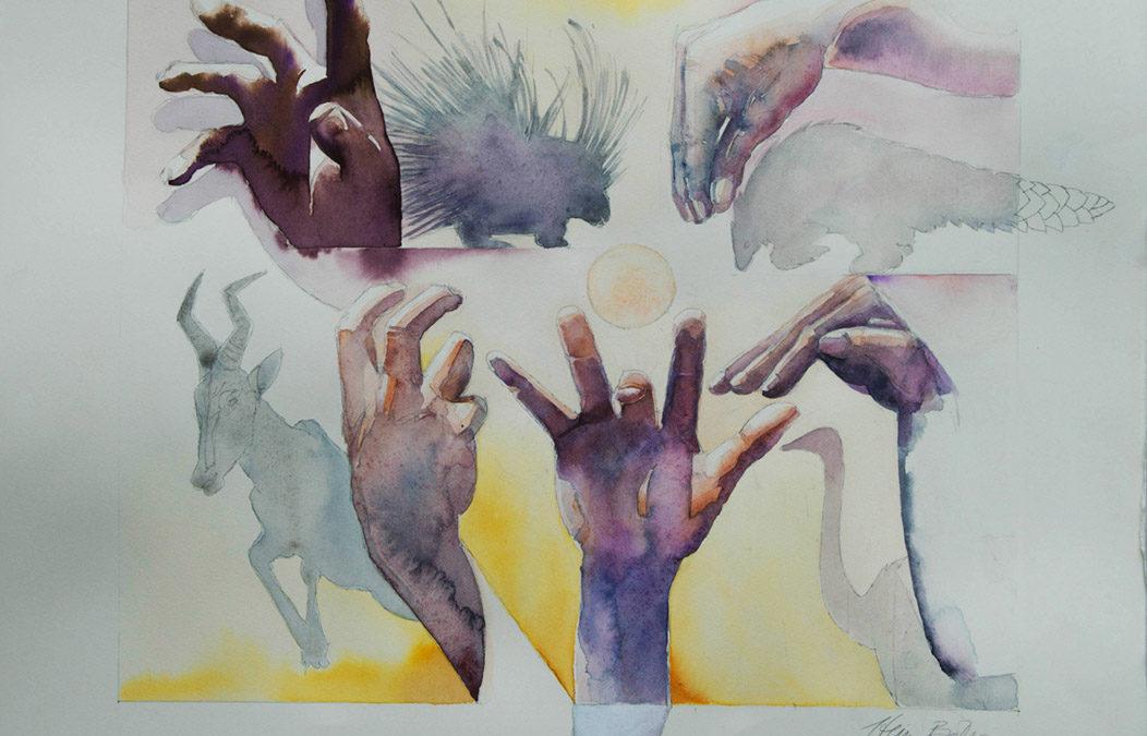SAN animal hand signs